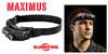 MAXIMUS HS3-A-BK HEADLAMP. SUREFIRE VARIABLE OUTPUT LED. CUTLERY SHOPPE
