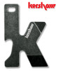 "Kershaw K-Tool – 4"" Multitool Perfect For Your Keychain – Blackwash Finish"