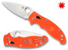 "SPYDERCO C101POR2 MANIX 2 CUTLERY SHOPPE EXCLUSIVE, 3.37"" CPM-S90V BLADE, ORANGE FRCP HANDLE"