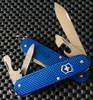 VICTORINOX SWISS ARMY CADET, BLUE ALOX, MODEL NUMBER 0.2601.22R, CUTLERY SHOPPE