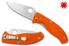 SPYDERCO C122GPOR ORANGE G-10 TENACIOUS. CUTLERY SHOPPE EXCLUSIVE