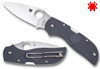 "SPYDERCO C152PGY CHAPARRAL LIGHTWEIGHT.  2.80"" CTS-XHP BLADE C152PGY GRAY FRN HANDLE. CUTLERY SHOPPE"