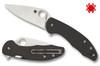 "Spyderco C233CFP Mantra 3 Flipper - 3.17"" Plain Edge CPM-S30V Blade - Carbon Fiber/G-10 Laminate Handle"