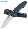 "BENCHMADE 477-1 EMISSARY 3.5 AXIS ASSISTED OPENER. 3.45"" PLAIN EDGE BLADE. CUTLERY SHOPPE"