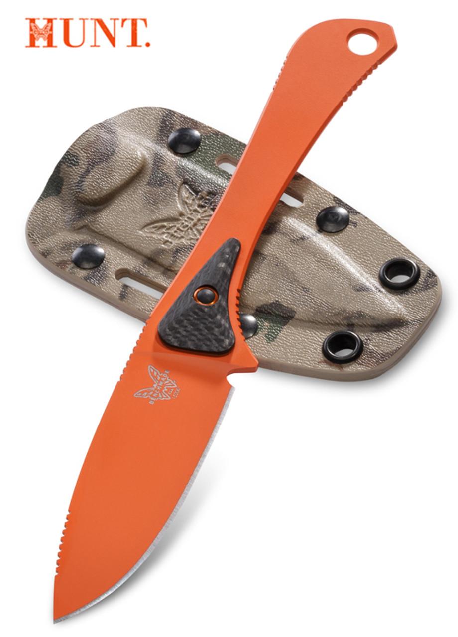 Benchmade Hunt 15200org Orange Altitude Fixed Blade 3 08