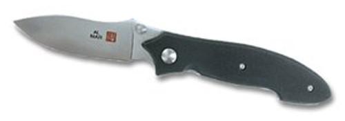 """Al Mar ND-2 Nomad - 3.0"""" VG-10 Blade - Black Textured G-10 Scales - A NUTNFANCY FAVORITE"""