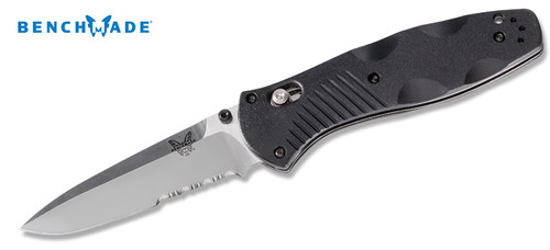 "Benchmade 580S Barrage - AXIS Assisted Opener - Valox Scales - 3.6"" Blade - Combo Edge - CUTLERY SHOPPE"