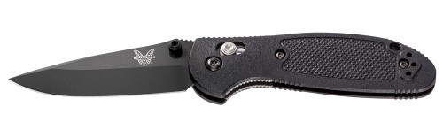 "Benchmade 556BK AXIS Mini Griptilian - 2.91"" Plain Edge BK1 Black 154CM Blade - Black Nylon Handle - DISCONTINUED ONLY 1 LEFT"