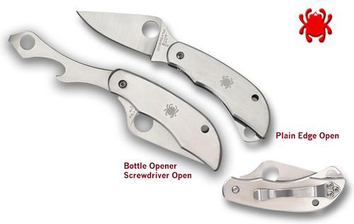 C175, C175P, CLIPITOOL, BOTTLE OPENER, SCREWDRIVER, KNIFE BLADE, SPYDERCO, CUTLERY SHOPPE