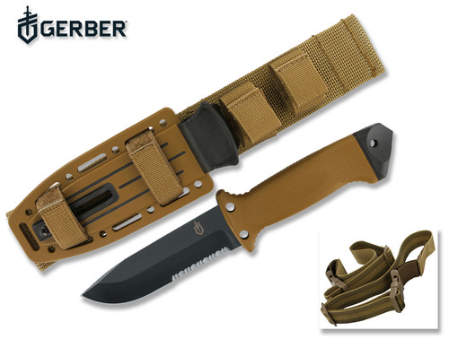Gerber 22 01463 Lmf Ii Infantry Knife 4 84 Quot Combo Edge Blade