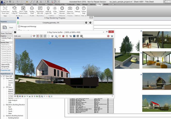 Chaos Group V-Ray 3.x for Revit Workstation License - additional image 1