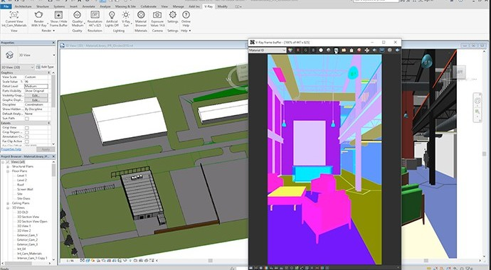 Chaos Group V-Ray 3.x for Revit Workstation License - additional image 4