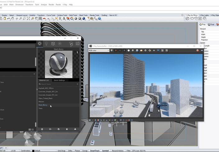 Chaos Group V-Ray 3.x for Rhino Workstation License - additional image 1
