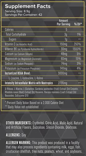 Intensity Nutrition- Intramino