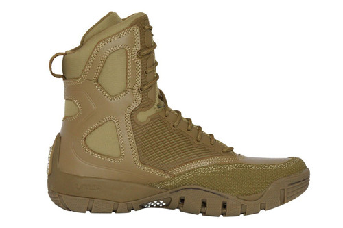 """LALO SHADOW Amphibian 8"""" Tactical Boot- Coyote Brown"""