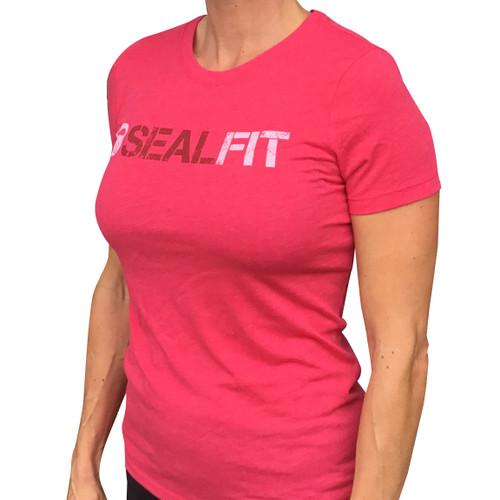 Women's Hot Pink SEALFIT Shirt