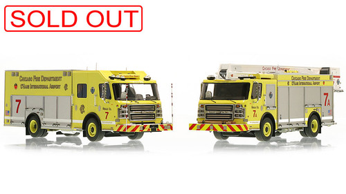 1:50 museum grade scale models of Chicago Squad 7