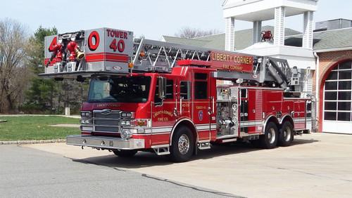 Liberty Corner Fire Company Tower 40