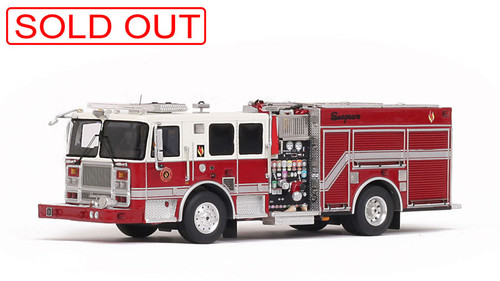 1:50 Seagrave Marauder II Engine - 2017 Limited Edition museum grade scale model