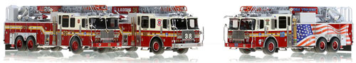 New FDNY Releases: Ferrara 100' Ladders for Ten House, Ladder 26 and 38