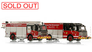 Chicago Fire Department Rosenbauer Squads 1/1A now sold out.