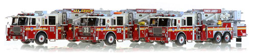 New 75' Tower Ladders for FDNY just announced