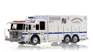 Replicas for Maryland's Bravest continue with RS742 from Wheaton Volunteer Rescue Squad