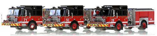 New Chicago E-One Pumpers now available to order.