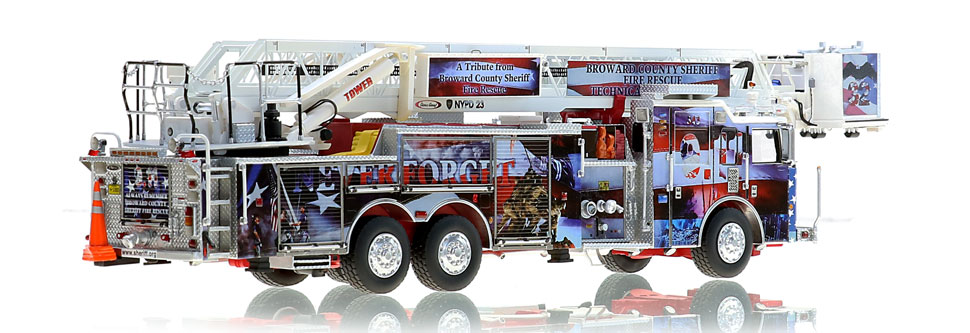 Broward County 9/11 Tribute Tower is limited to 200 units.