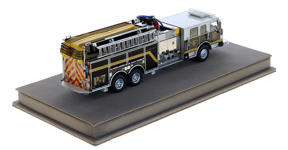Order your Jack Daniel's P-7 Pumper scale model today!
