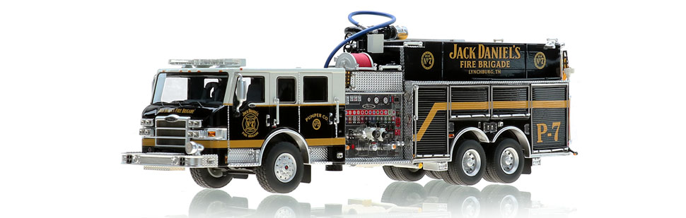 Jack Daniel's Fire Brigade P-7 Scale Model boasts 423 parts