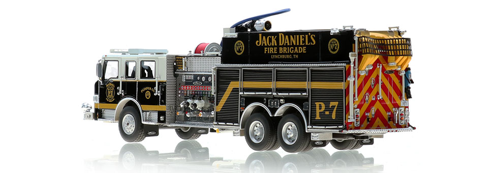 Production of Jack Daniel's P-7 scale model is limited to 600 units.