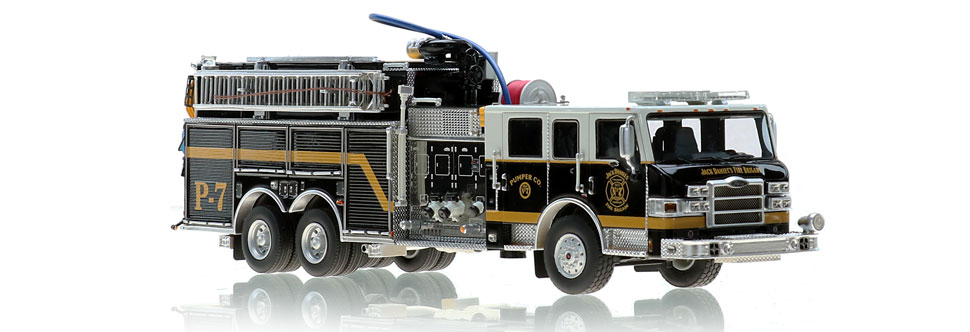 Jack Daniel's Fire Brigade P-7 Scale Model is museum grade