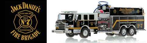 Authentic Jack Daniel's Fire Brigade P-7 Pumper