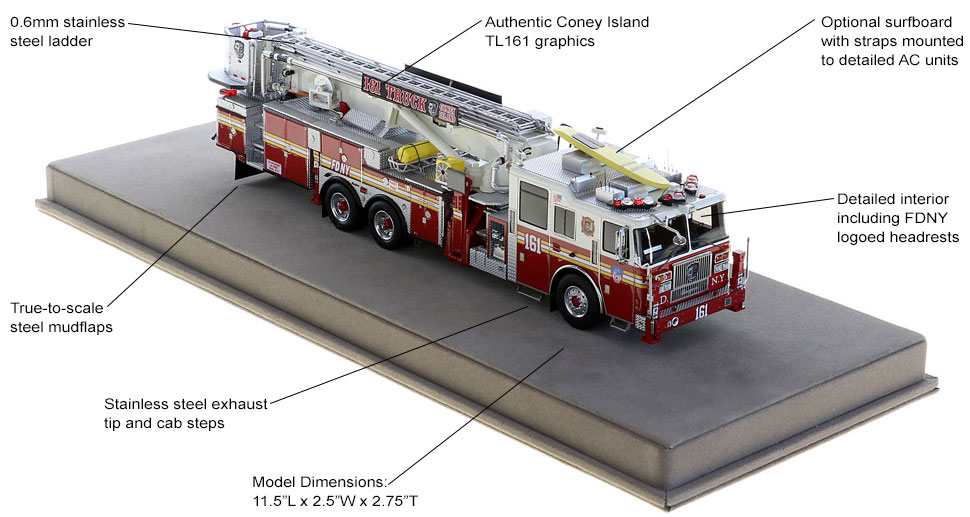 Order your FDNY Tower Ladder 161 today!