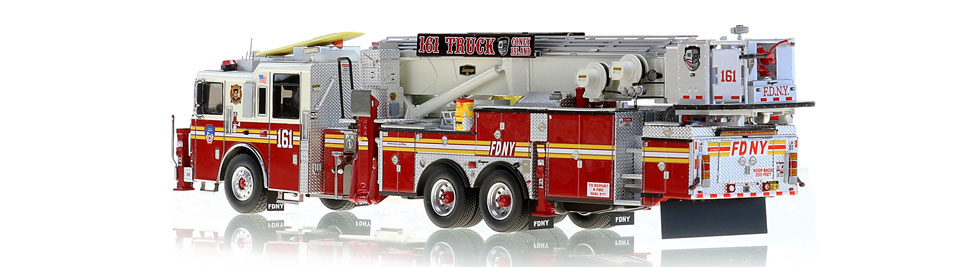 Production of FDNY Tower Ladder 161 is limited to 125 units.