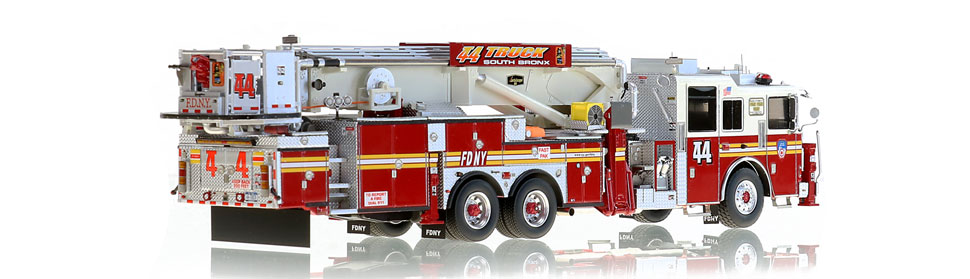 Only 125 units of FDNY Tower Ladder 44 produced