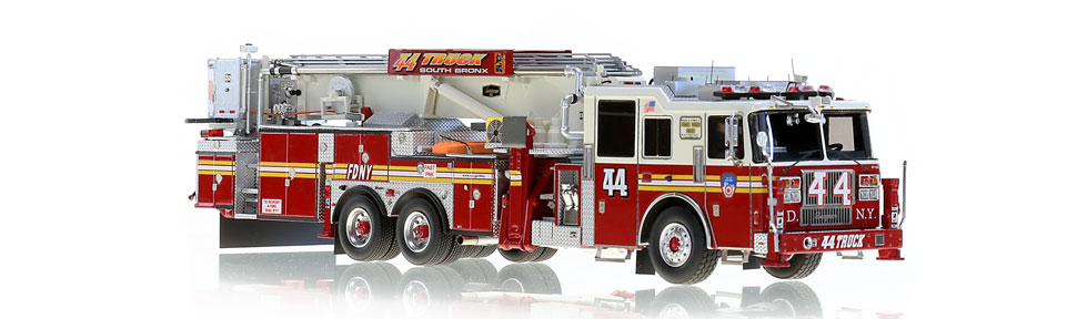 FDNY Tower Ladder 44 scale model for South Bronx
