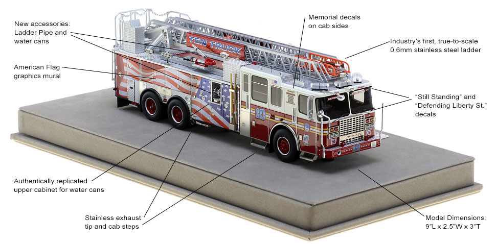 Order your FDNY Ladder 10 today!