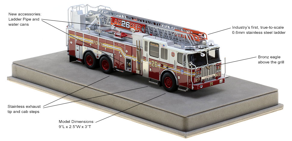 Order your FDNY Ladder 26 today!