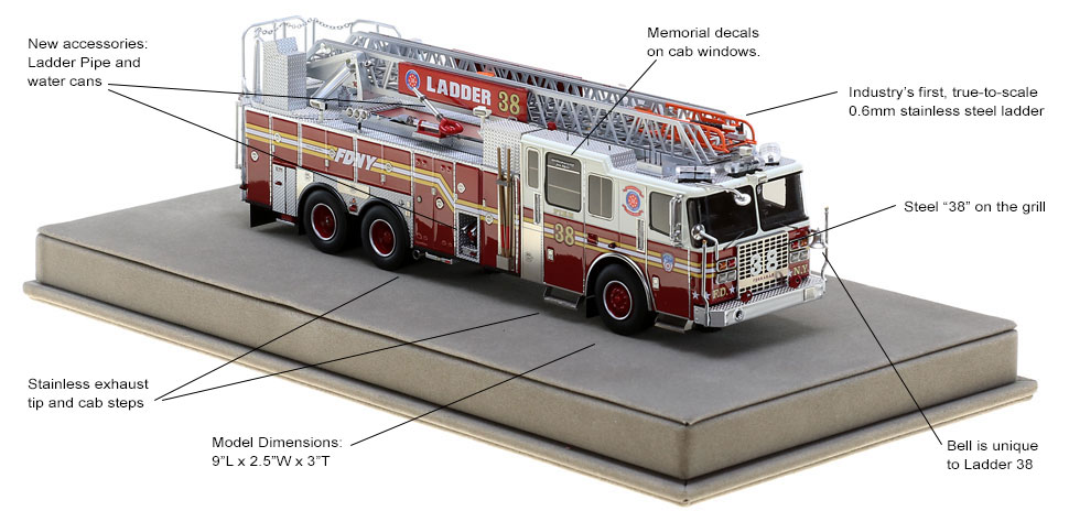 Order your FDNY Ladder 38 today!