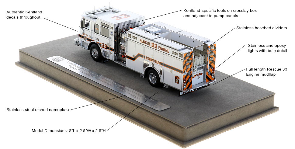 Kentland Rescue Engine 33 is full of custom features