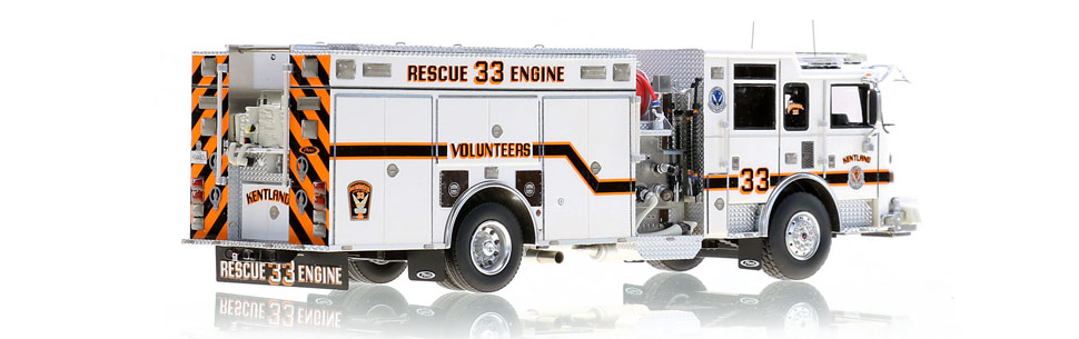 Production of Kentland Rescue Engine 33 is limited to 250 units.