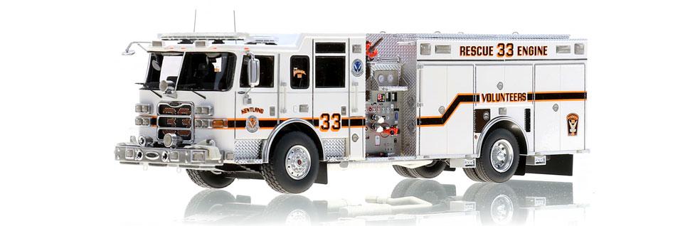 Kentland Rescue Engine 33 is museum grade.