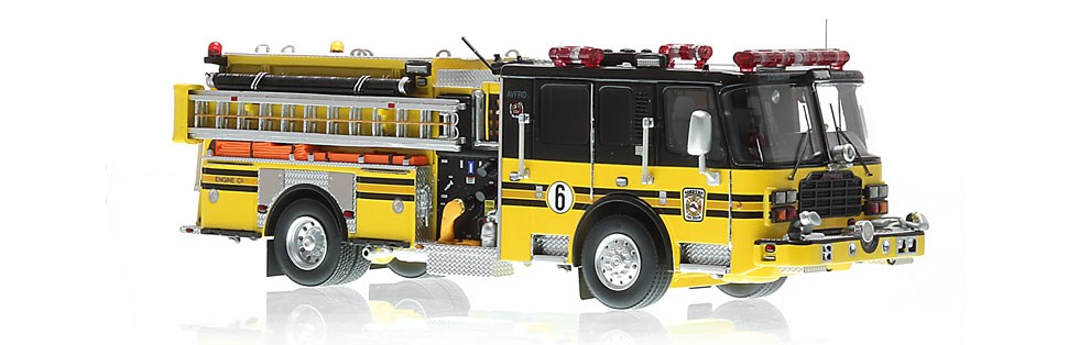 AVFRD Engine 606 in hand-crafted using over 400 parts.