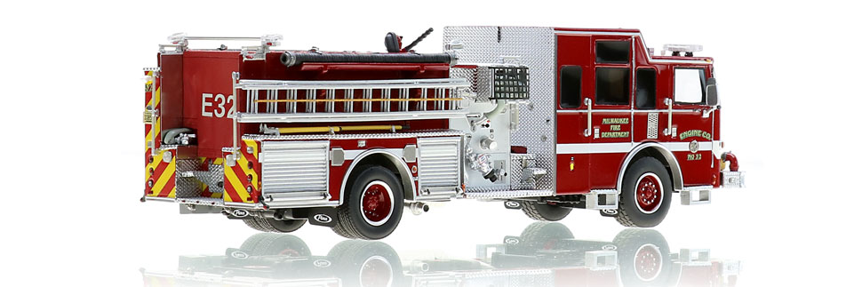 Milwaukee Engine 32 features 1:50 scale precision