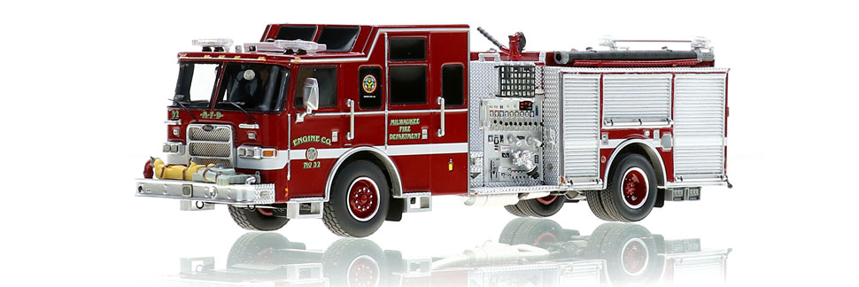 Milwaukee Engine 32 is hand-crafted using over 500 parts.