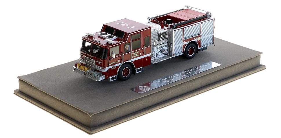 Milwaukee Engine 32 includes a fully custom display case.