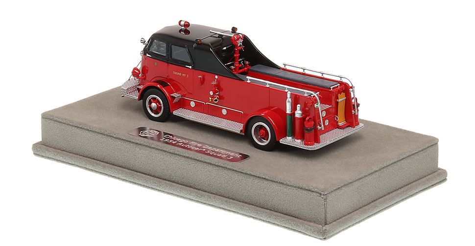 Order your Chicago Fire Department 1954 Autocar Squad 3 today!
