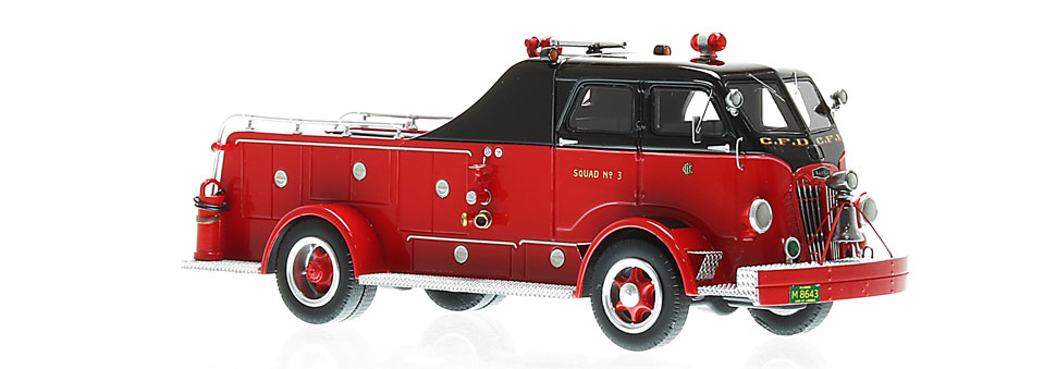 CFD Autocar Squad 3 features over 250 hand-crafted parts.